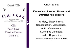 Chillax CBD Herbal Infused Blend