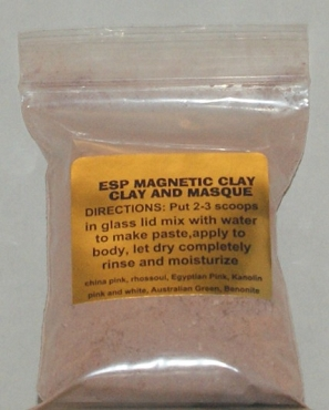 Red Brick Magnetic Clay  2 oz
