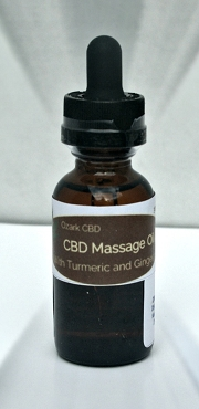 Herbal Infused CBD Massage Oil