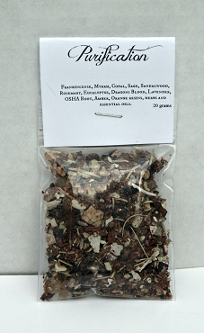 Purification Resin Incense Blend